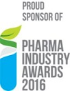 Proud sponsor of Pharma Industry 2016