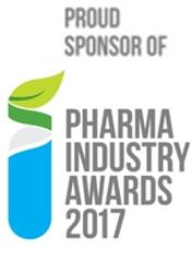 Proud sponsor of Pharma Industry 2017